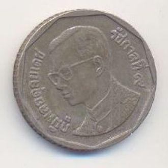монета 5 бат Таиланд Пумипон Адульядет (Рама IX)