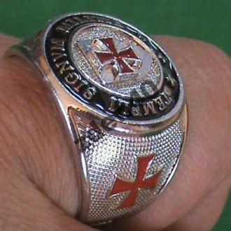 Рыцарский перстень ордена Тамплиеров