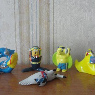 Киндер,Langnese / Морской мир,подводный мир 5шт.