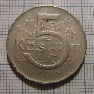 Чехословакия, 5 крон 1983
