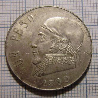 Мексика, 1 песо 1980 г