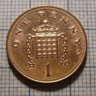 Великобритания, 1 пенни 2005 г