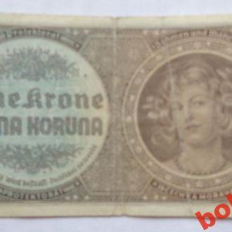 Протекторат Богемия - Моравия 1939 г