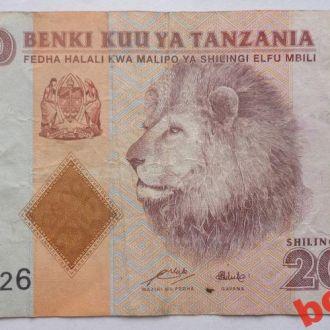 Танзания 2000 шилингов 2011 г