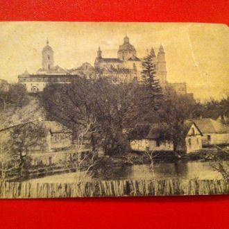 Открытое письмо  Общий вид Почаевской Лавры 1917 г