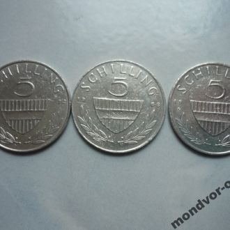 Австрия 5 шиллингов 1972, 69