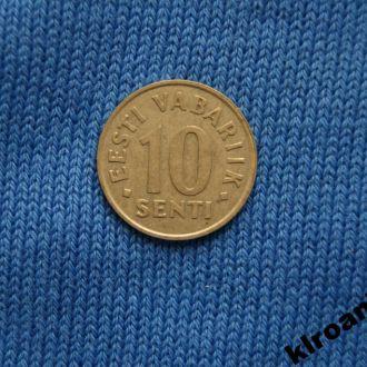 Эстония 10 сенти 1991 г