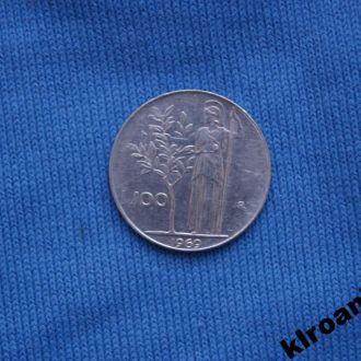 Италия 100 лир 1969 г