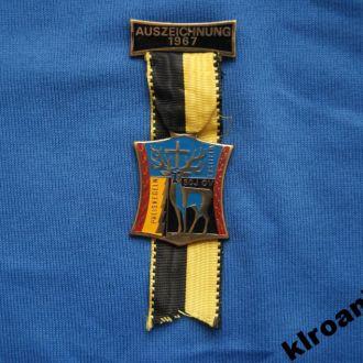 Награда 1967 г БОУЛИНГ Швейцария г. Эрстфельд
