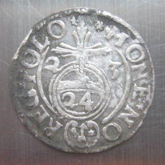 Польша - полторак 1624 г. Сигизмунд III