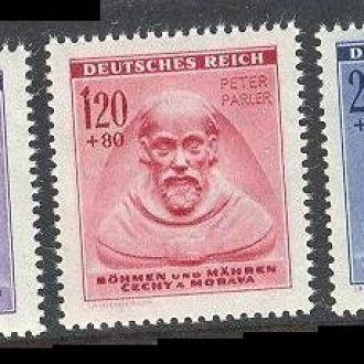 Рейх БиМ 1943 короли религия гербы ** м