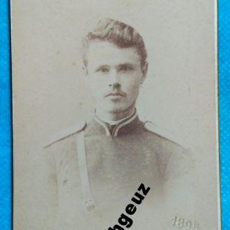 Воин. фото А. Федецкий. Харьков 1895 г