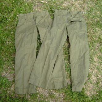 брюки военные английские