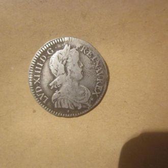 Людовик. грошен 1652