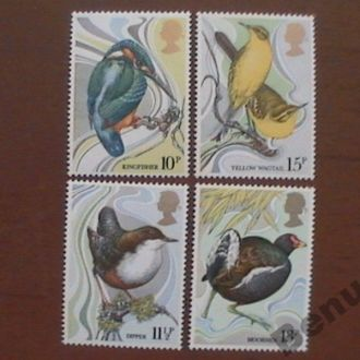 Великобритания MNH фауна птицы