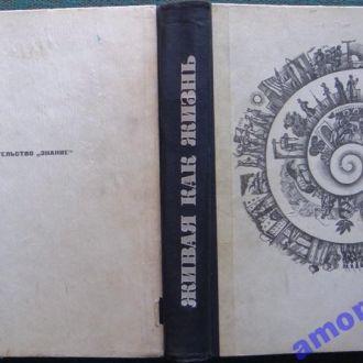 Живая, как жизнь.  Книга для чтения по русской литературе.  1964 г