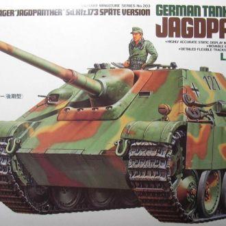 Jagdpanther  1:35 Tamiya 35203 + Aber 35028
