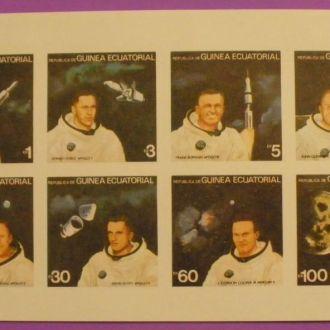 Гвинея Экват. 1978 г. Американские астронавты