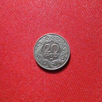 20 грош 1923р  сохран!!!!