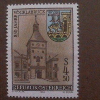Австрия  1984 MNH архитектура