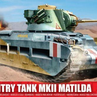 Британский танк Матильда Mk VII - Airfix1318