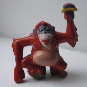 Обезьяна,игрушка(пластик)
