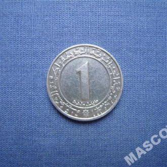 Алжир 1 динар 1982г (Юбилейная)