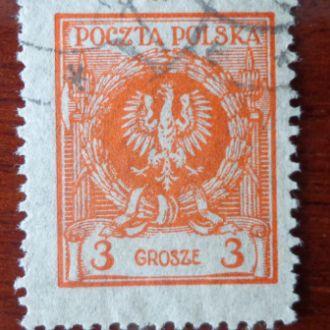 Польша,М№203-1.5эвро 1924г.