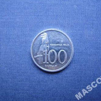 Индонезия 100 рупий 1999г