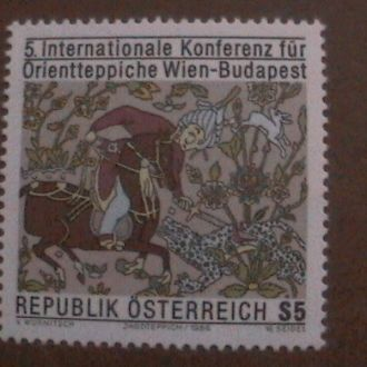 Австрия 1986 MNH