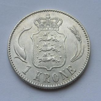 Дания 1 крона 1916 г