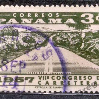 марки Панама 1957 не частая