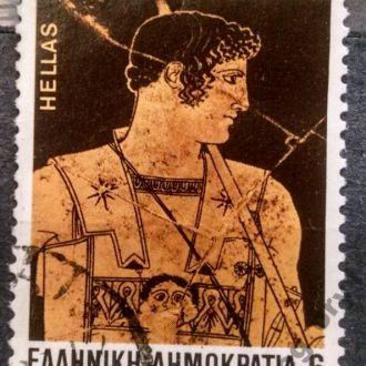 марки Греция искусство с 1 гривны