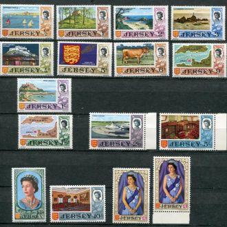 Джерси 1969 г Серия **+* 50 евро +№ 21в