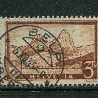 Швейцария 1931 год Гашеная