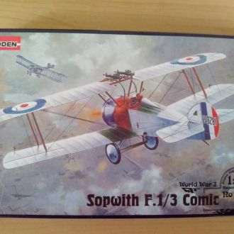 1/72 RODEN Sopwith F.1/3 Comic