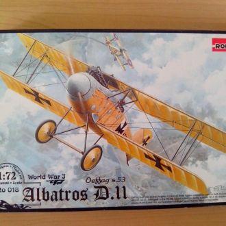 1/72 RODEN Albatros D.II Oeffag s.53