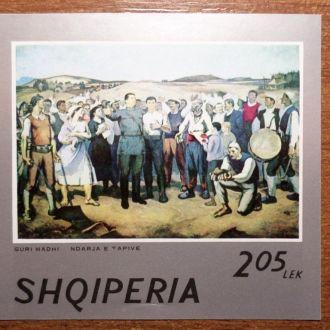 Албания живопись КЦ-3,5м нарушение клея на фото