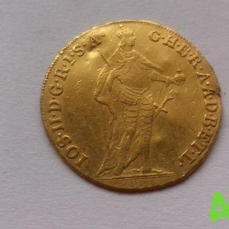 Австро-Венгрия дукат золото, 3.46 г, 1784 г
