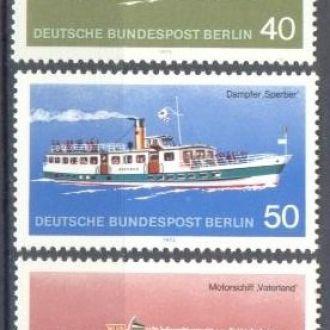 Германия Берлин 1975 корабли пароходы флот ** о