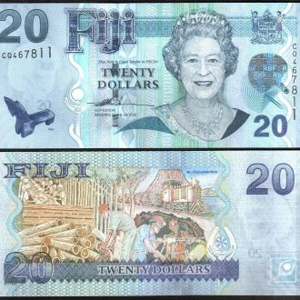 Fiji / Фиджи - 20 Dollars 2007 - UNC - Миралот