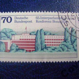 ФРГ Здание парламента в Бонне.