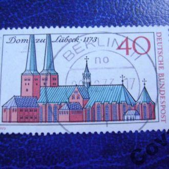 ФРГ Кафедральный собор в Любеке.
