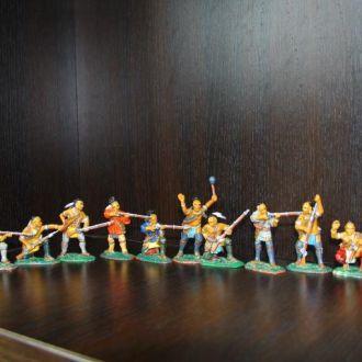 гуроны  индейцы Armies in Plastic (цветные)