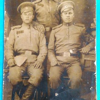468 Нарымский полк фото открытка до 1917 Оригинал!