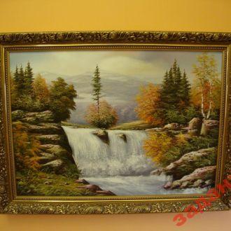 В.Мошак -картина -Водопад-2007
