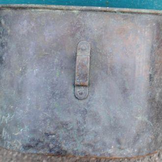 Мідний антикварний солдатський котелок ПСВ, клеймо