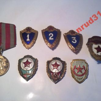 значки СССР армия и флот
