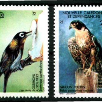 Новая Каледония 1987 Птицы Mi: 810-811 2,2 евро