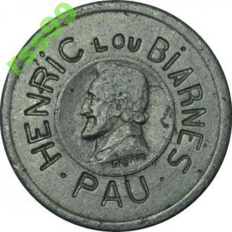 Франция 10 centimes РЕДКОСТЬ!!!